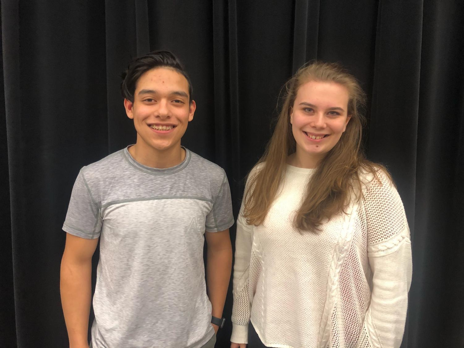 Villegas, Farrow Named As 2018-2019 Drum Majors