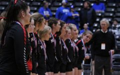 Volleyball makes history at state semi-finals
