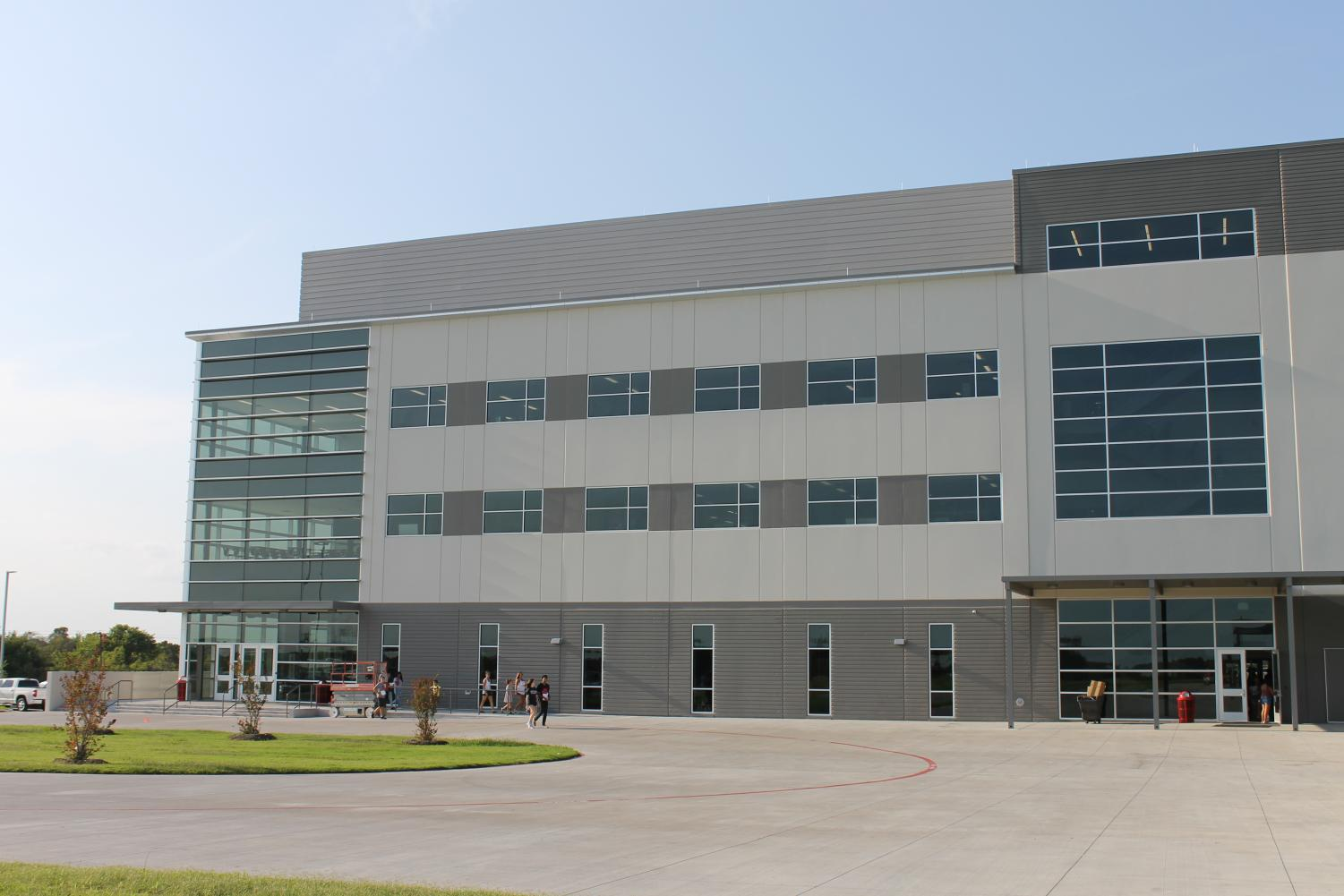 The New Melissa High School Building