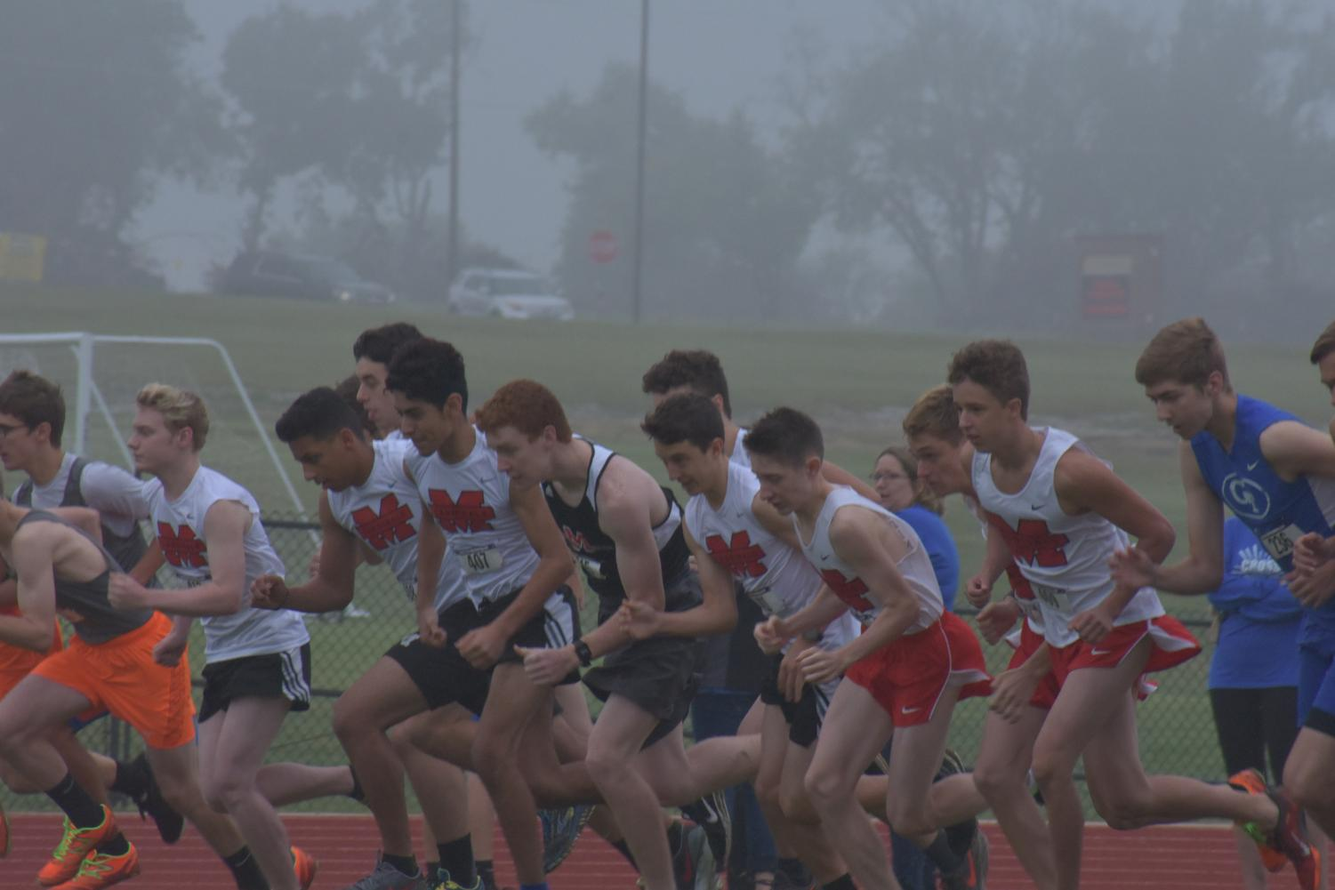 Foggy Rains and weather brought a short yet still victorious Cross Country season.