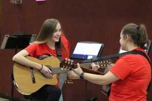 Mariachi Cardinales holds first performance at elementary reading festival, more to come