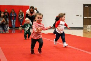 Cardinal Spirit Challenge: Babies earn points for classes