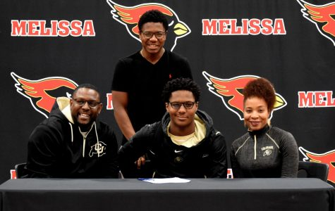 Brendon Lewis signs to play football at Univ. of Colorado