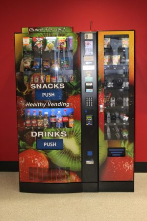 Vending machines to remain locked down during lunch