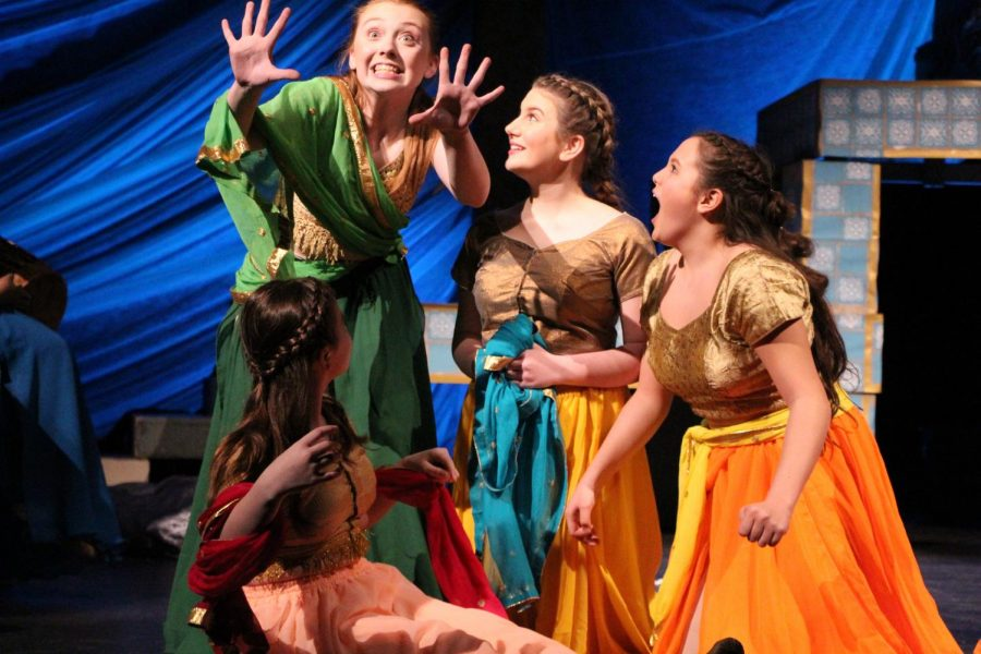 Melissa Theatre sweeps district with 'Arabian Nights'