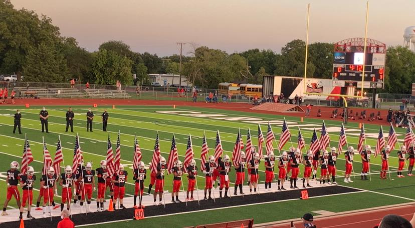 Cardinals pay respect on Patriot Day in pre-game ceremony