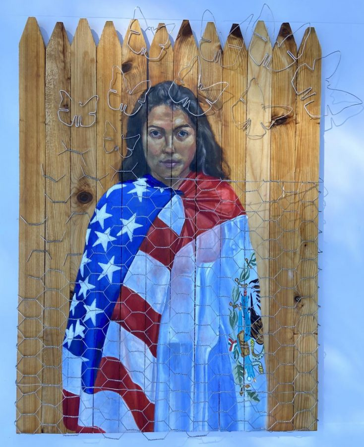 """The Land of the Free"", by Clayton Vaughan, was awarded a Gold Key and will be advancing to the national level of competition."