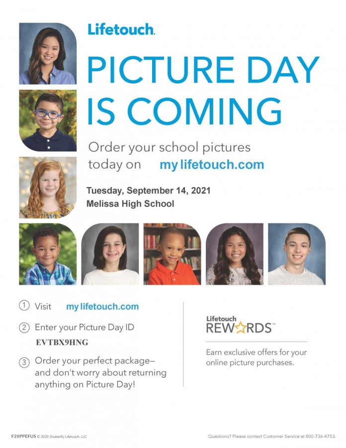 Picture Day: Sept. 14